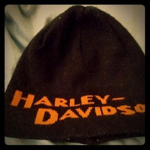 Harley Davidson skull winter hat
